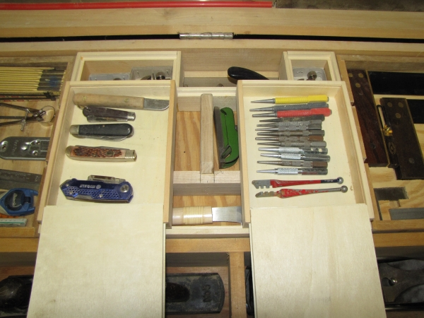 Two Small Hobby Lobby Boxes - Small Tools